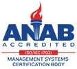 ANAB accredited ISO/IEC 17021-1 management systems cerification body