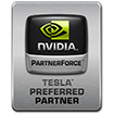Nvidia Tesla Preferred Partner Logo