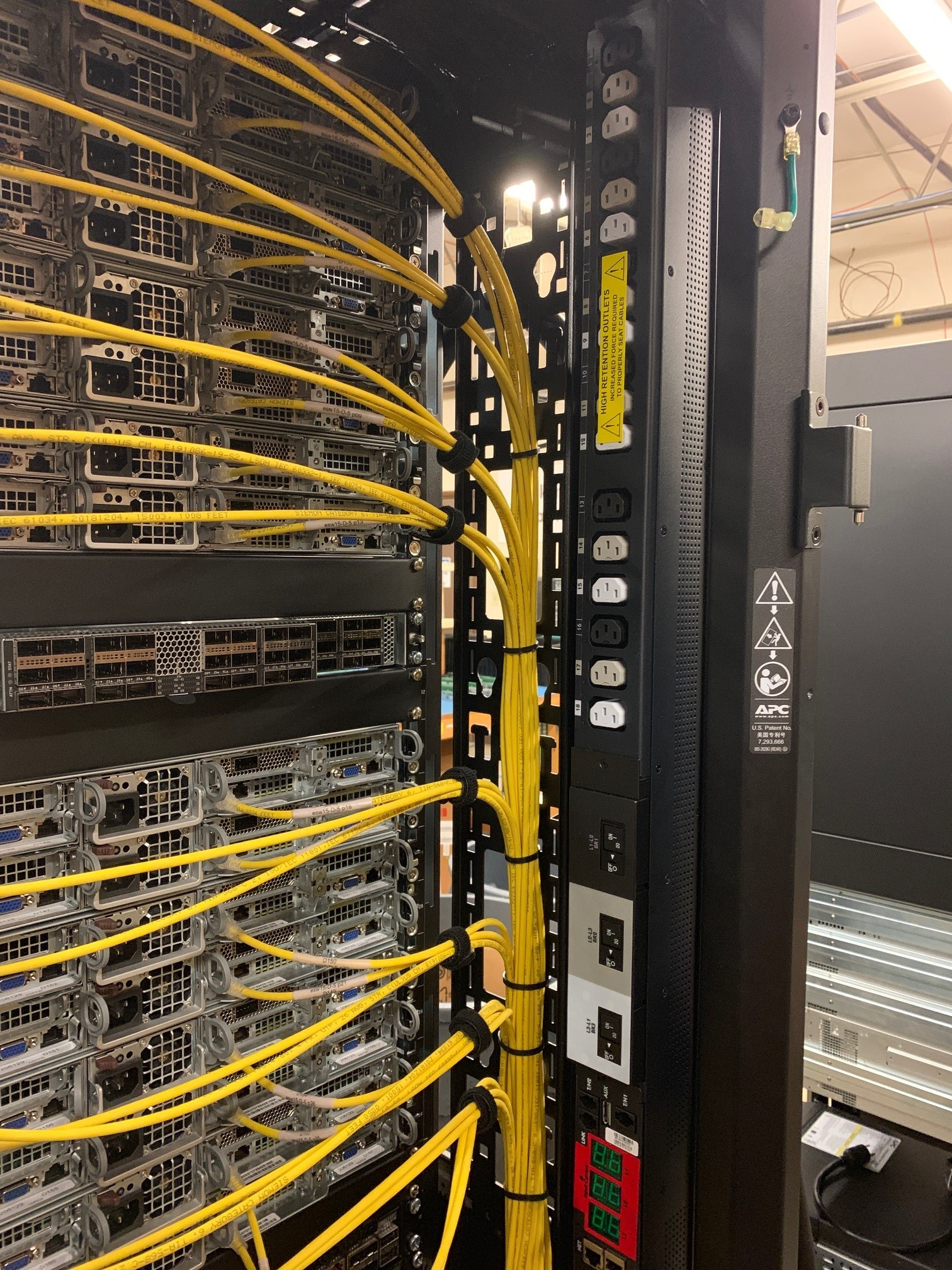 Cabling cut to custom specifications