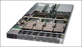 Supermicro 1U SuperServer 1029GQ-TXRT GPU Server