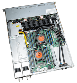 Liquid Cooling - SYS-6018R-WTR with Direct to Chip Cooling