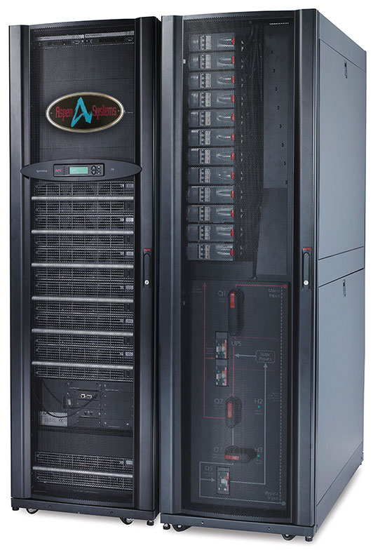 Large Floor Mounted UPS from APC