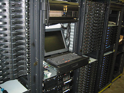 Aspen Systems Cluster with Console