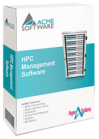 HPC Cluster Management ACME Software