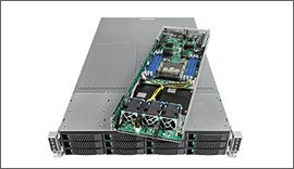 Intel 2U Server LADMP2312KXXX43