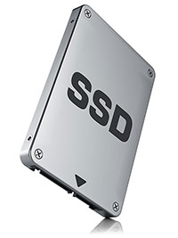 Flash Storage Solid State Drive (SSD)