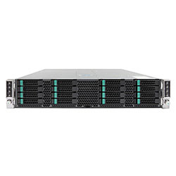 Intel 2U Server H2216XXKR2 (16 DIMMS + IB)