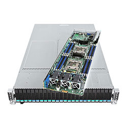 Intel 2U Server H2224XXKR2 with SFP+