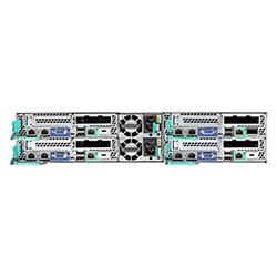 Intel 2U Server H2312XXKR2 (8 DIMMS + IB)