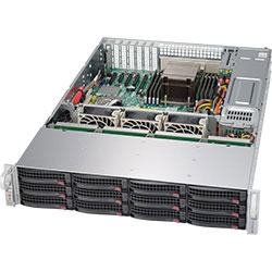 Supermicro 2U SuperServer 5028R-E1CR12L
