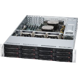 Supermicro 2U SuperServer 6028R-E1CR12L