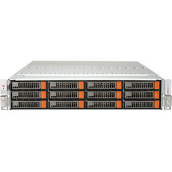 Supermicro 2U SuperServer 6028R-E1CR24N