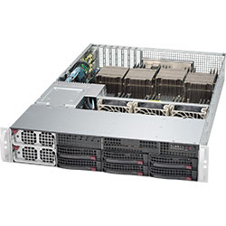 Supermicro 2U SuperServer 8028B-C0R4FT